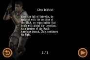 Mobile Edition file - Chris Redfield - page 3