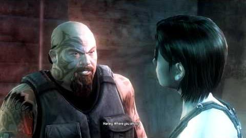 Conversation with Jill Valentine (cutscene)