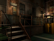 Resident Evil 3 background - Uptown - warehouse p - R10119