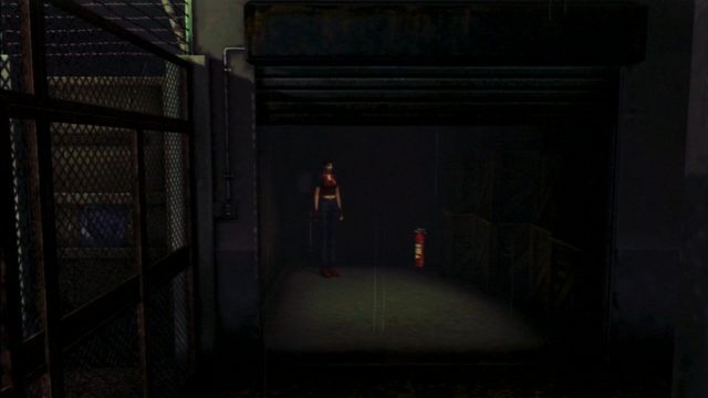 File:Resident Evil CODE Veronica - square in front of the guillotine - gameplay 04.png