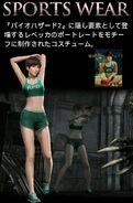 Rebecca Bio0 HD Sportswear Costume