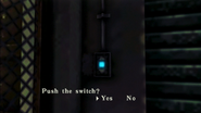 Resident Evil CODE Veronica - square in front of the guillotine - examines 05-2