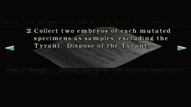 File:Resident Evil files - Mail from the Chief of Security page 4.png