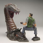 Biohazard Figure Collection - Chris Redfield vs. Yawn