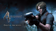 Resident Evil 4 Digital Archives Front Page