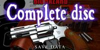 Biohazard Complete Disc