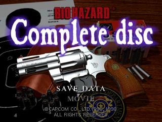 Biohazard Complete - Title