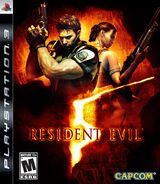 Resident Evil 5 PS 3 Cover NTSC