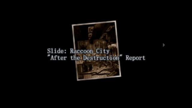 File:Survivor file - Report on destroyed Raccoon City - page 1.png