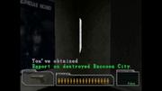 Survivor file - Report on destroyed Raccoon City - location