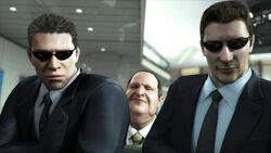 Davis bodyguards