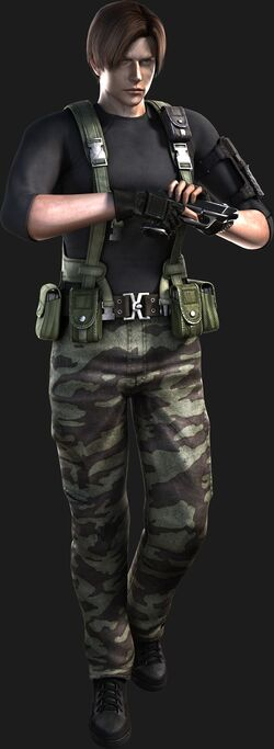 Resident Evil The Darkside Chronicles - Operation Javier - Leon Scott Kennedy render