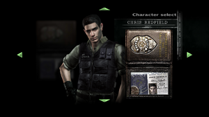 Chris S.T.A.R.S. 2 Character Select.png