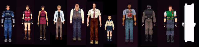 File:Characters from RE2 - HD.png