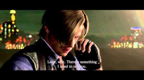 Resident Evil 6 all cutscenes - Leon and Chris' Conversation