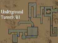Resident Evil Remake Underground Tunnels B1