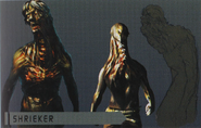 Resident Evil 6 Art Book - Shrieker 1 art