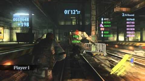 RESIDENT EVIL 6 Multiplayer DLC - Predator Mode