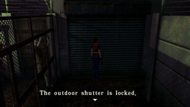 File:Resident Evil CODE Veronica - square in front of the guillotine - examines 04-1.png