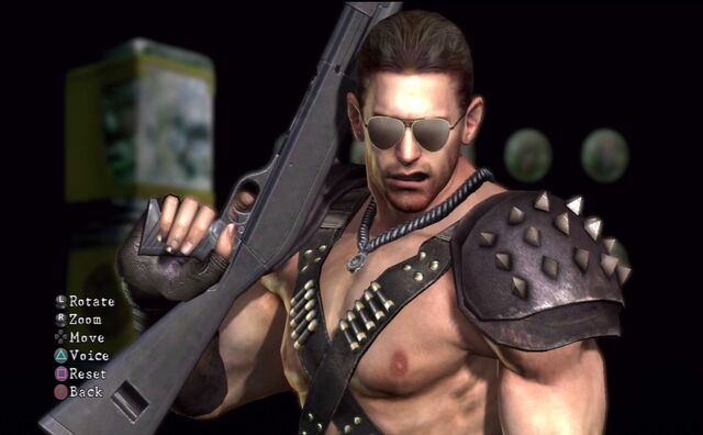 File:Chris Redfield Warrior by Leonesaurus.jpg