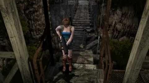 Resident Evil 3 Nemesis cutscenes - Nemesis at the bridge (Out of time)