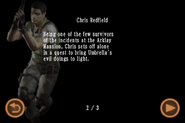Mobile Edition file - Chris Redfield - page 2