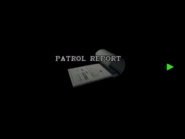 RE2 Patrol report 01