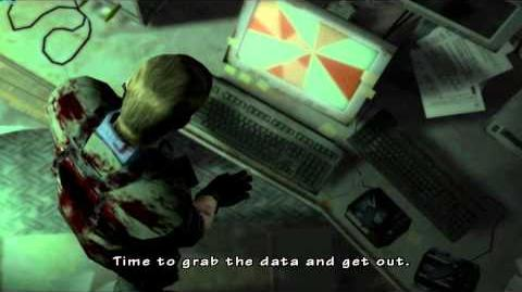 Resident Evil The Umbrella Chronicles all cutscenes - Rebirth 1 opening