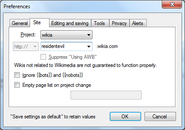 AutoWikiBrowser tutorial - part 2c