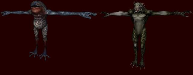 File:Hunter R and Hunter Y - Resident Evil Outbreak renders.jpg
