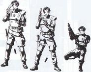 Leon reloading (Armor)