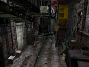Resident Evil 3 background - Uptown - boulevard a1 - R10301