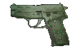 File:Resident Evil 2 - SIG P228 menu image (BIOHAZARD 2 Trial Edition) alpha.png
