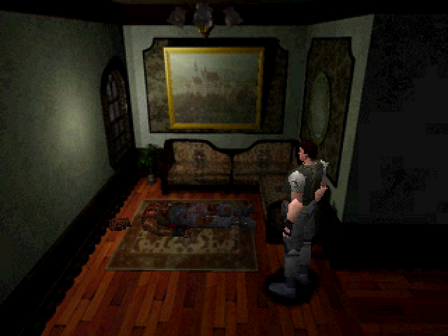 File:Resident Evil - Kenneth's body.png