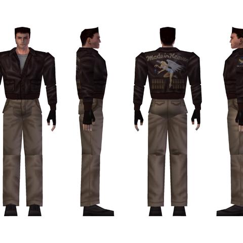 Chris' alternate costume model.