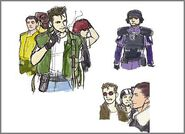 BIO HAZARD - Chris Redfield and STARS illustration - 02 illust3