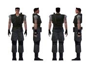 Resident Evil - Chris Redfield standard model