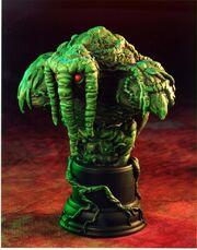 MAN-THING MINI BUST SIDE VIEW
