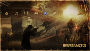 Resistance 3 PS3 menu theme