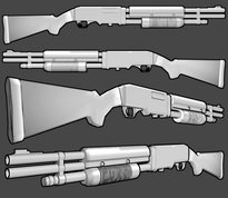 Rossmore 236 combat shotgun by thefirewarriors