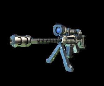 Anti Materiial Sniper Cutted
