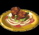 Jamie's Meatball Pasta