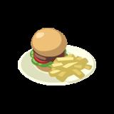 File:Burger&Fries.png