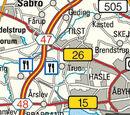 Denmark/E45/Pedersminde
