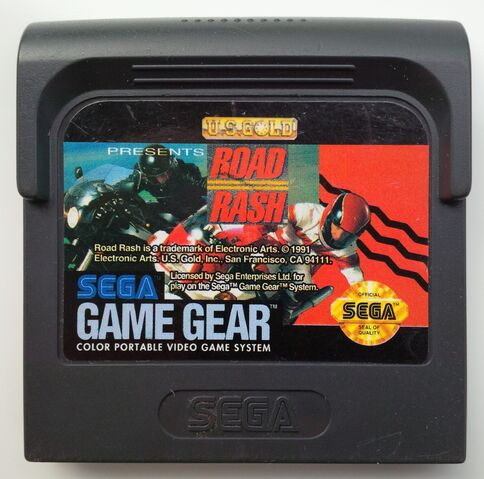 File:Sega Game Gear Road Rash ROM cartridge front.jpg
