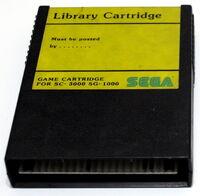 Sega SG-1000 cartridge