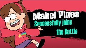 Smash bros Lawl X Character Moveset - Mabel Pines
