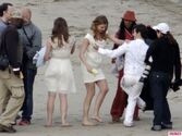 Revenges-Emily-VanCamp-Gabriel-Mann-and-Nick-Wechsler-Shoot-Seaside-White-Wedding-15-580x435