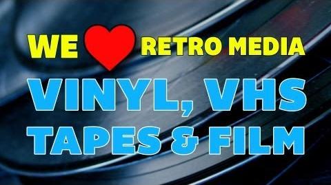 We ❤ Retro Media Vinyl, VHS, Tapes & Film Off Book PBS Digital Studios