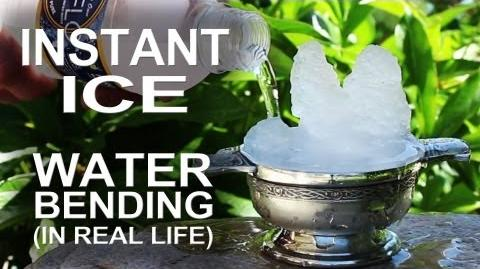 Instant Ice - Waterbending In Real Life!